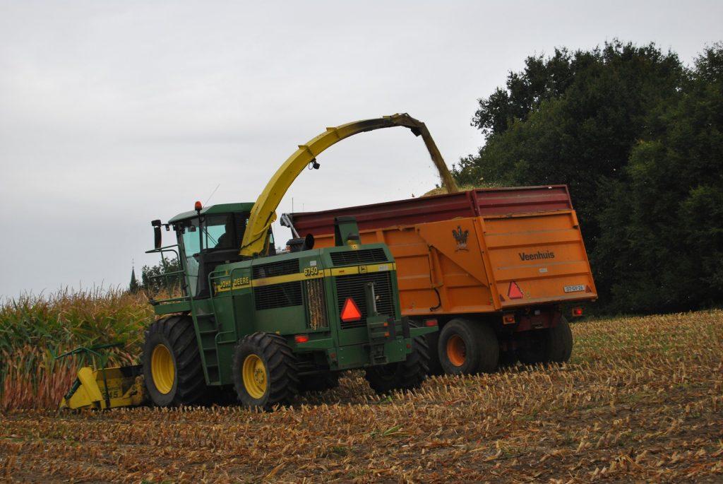 Mais oogst 2012 maishakselaar